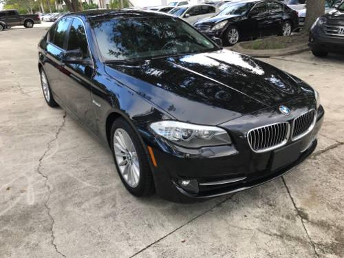 Used BMW 5 SERIES 2013 WEST PALM 535I XDRIVE