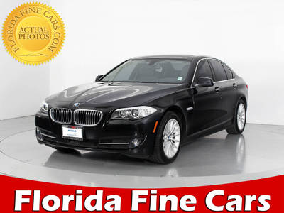 Used BMW 5 SERIES 2013 WEST PALM 535I XDRIVE