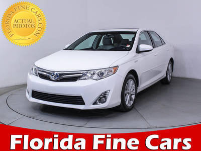 Used TOYOTA CAMRY 2012 MIAMI Xle Hybrid