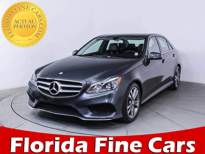 Used MERCEDES-BENZ E CLASS 2014 WEST PALM E350