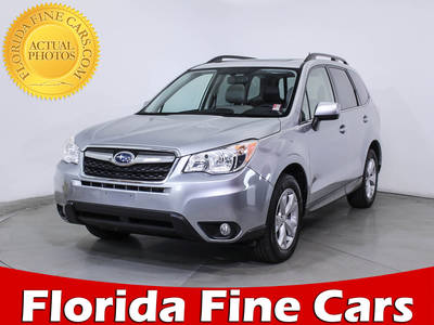 Used SUBARU FORESTER 2015 MIAMI 2.5I LIMITED
