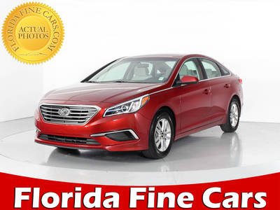Used HYUNDAI SONATA 2016 WEST PALM SE