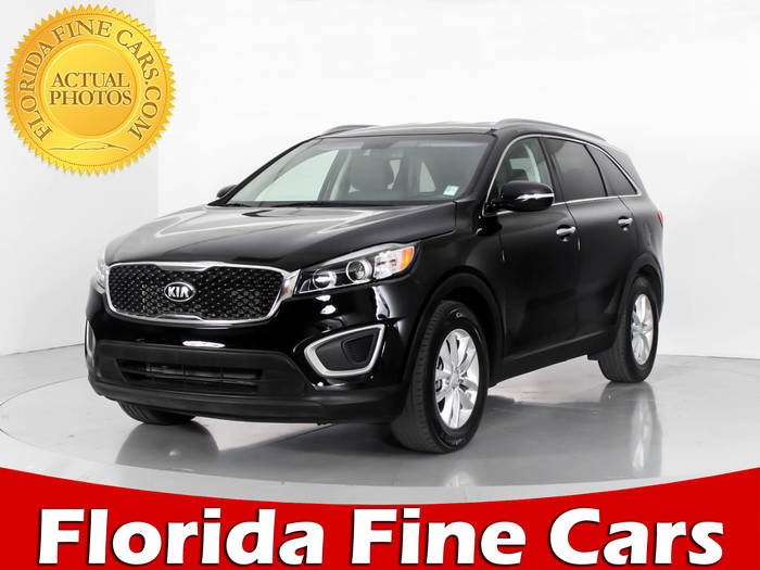Used KIA SORENTO 2016 WEST PALM LX