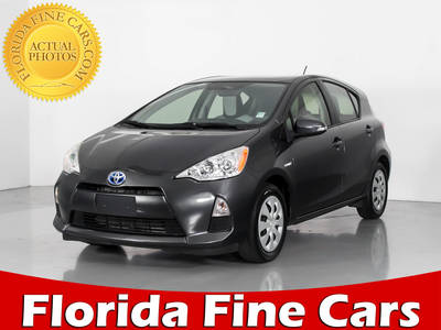 Used TOYOTA PRIUS C 2014 WEST PALM