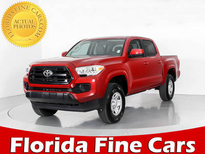 Used TOYOTA TACOMA 2017 WEST PALM SR