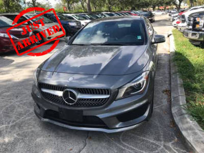 Used MERCEDES-BENZ CLA CLASS 2014 WEST PALM CLA250 4MATIC