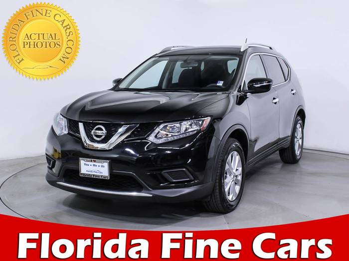 Used NISSAN ROGUE 2015 HOLLYWOOD Sv