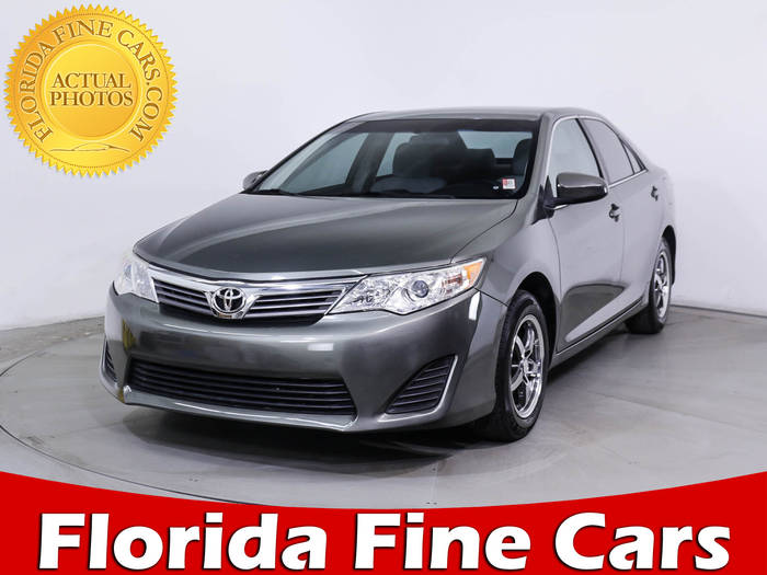 Used TOYOTA CAMRY 2012 MIAMI Le