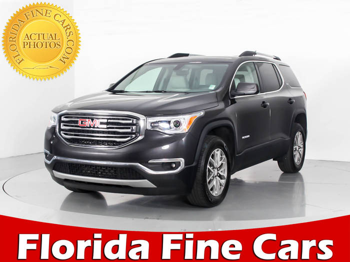 Used GMC ACADIA 2017 WEST PALM SLE2