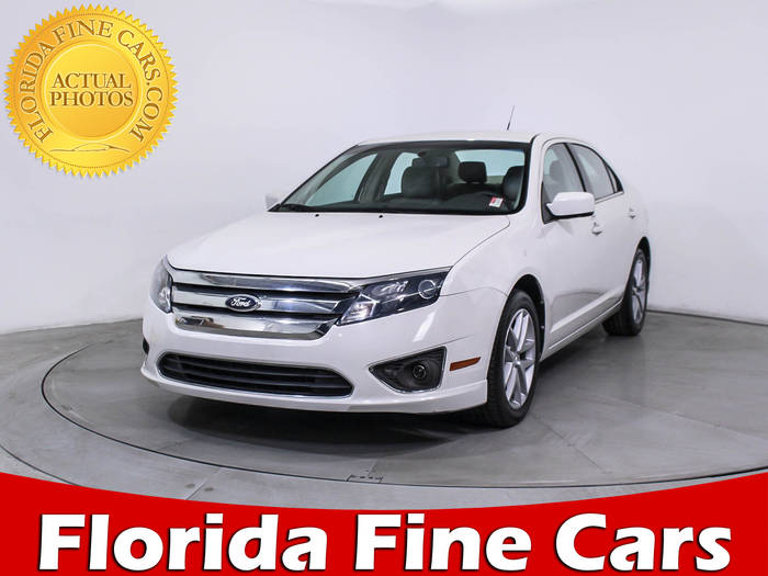 Used FORD FUSION 2012 MIAMI SEL
