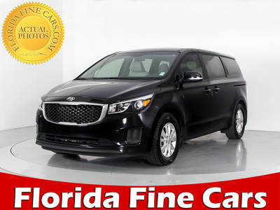 Used KIA SEDONA 2016 WEST PALM L
