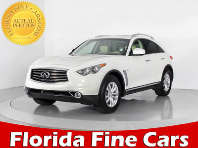 Used INFINITI QX70 2014 WEST PALM