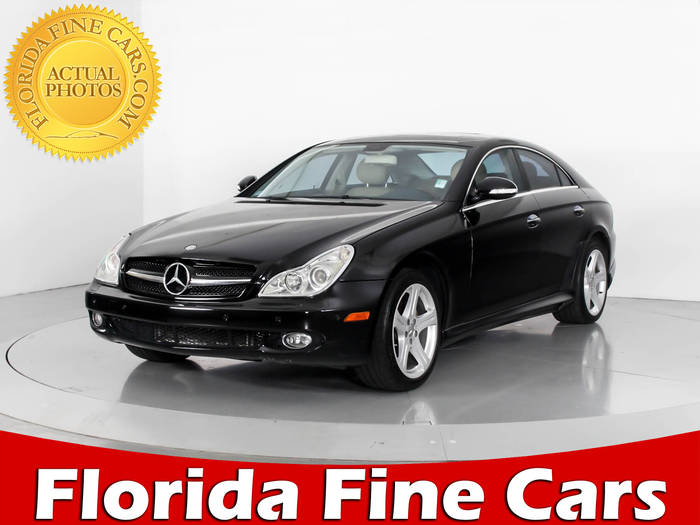 Used MERCEDES-BENZ CLS CLASS 2006 WEST PALM CLS500