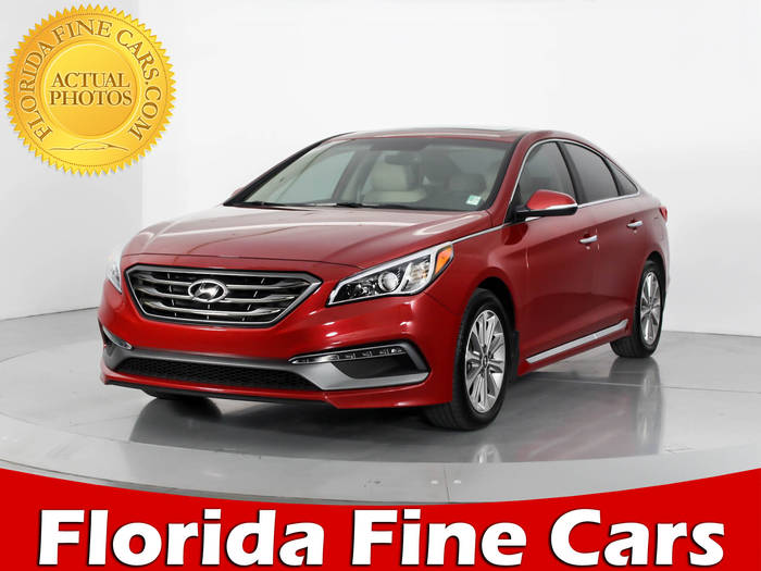 Used HYUNDAI SONATA 2017 WEST PALM LIMITED