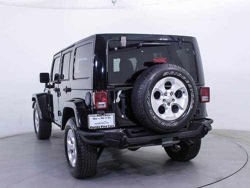 Used JEEP WRANGLER UNLIMITED 2015 MIAMI SAHARA
