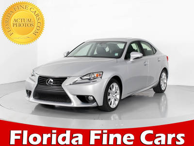 Used LEXUS IS 250 2014 WEST PALM