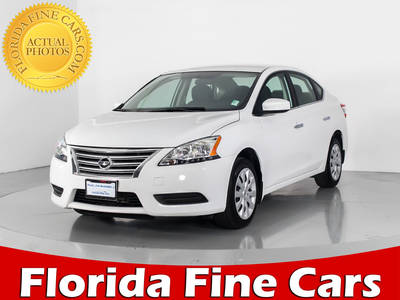 Used NISSAN SENTRA 2015 WEST PALM SV