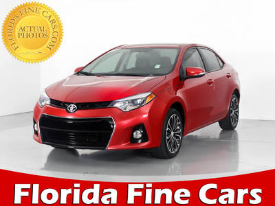 Used TOYOTA COROLLA 2015 WEST PALM S