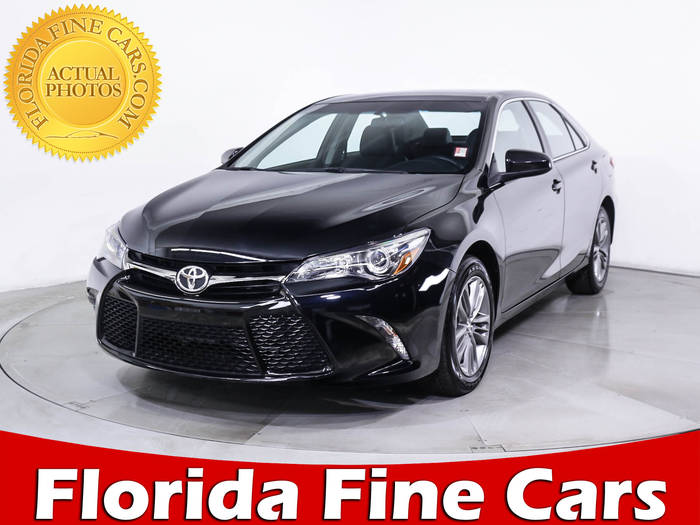 Used TOYOTA CAMRY 2017 MIAMI Se