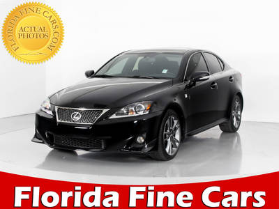 Used LEXUS IS 250 2012 WEST PALM F SPORT