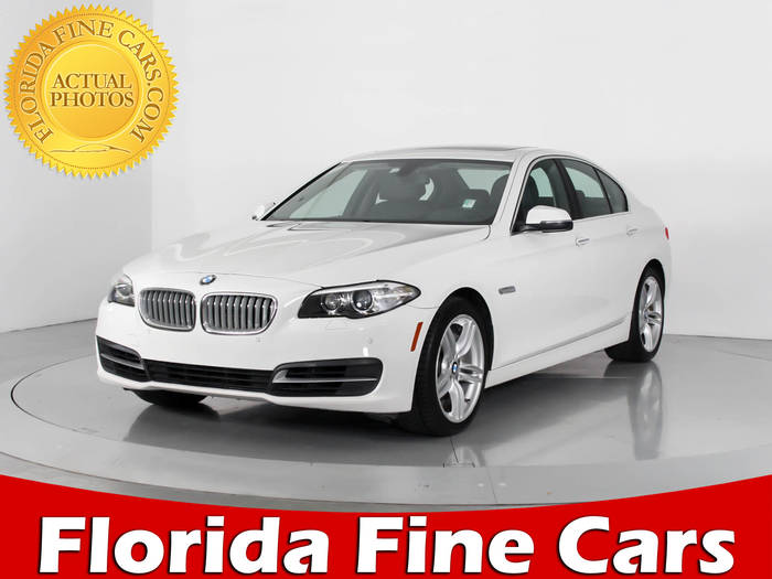 Used BMW 5 SERIES 2014 WEST PALM 550I
