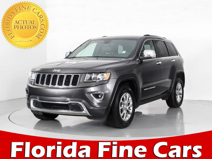 Used JEEP GRAND CHEROKEE 2016 WEST PALM LIMITED