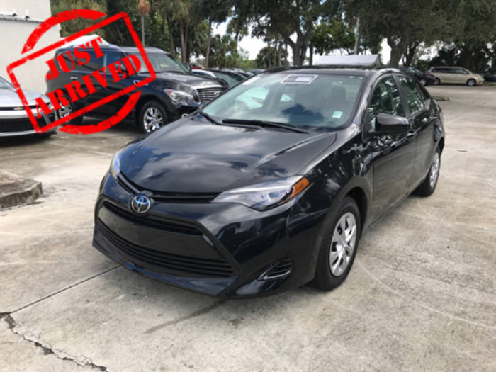 Used TOYOTA COROLLA 2017 WEST PALM L