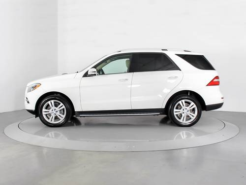 Used MERCEDES-BENZ M CLASS 2014 WEST PALM ML350