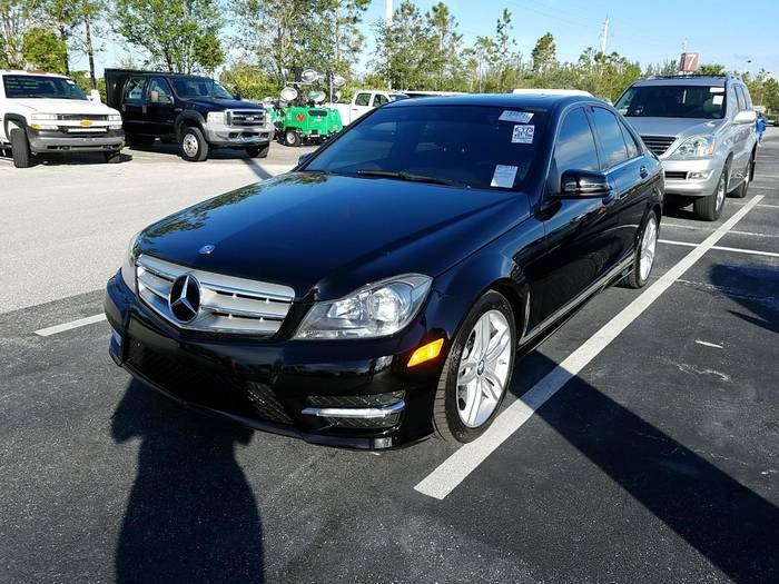 Used MERCEDES-BENZ C CLASS 2013 HOLLYWOOD C250