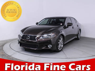 Used LEXUS GS 350 2013 MIAMI