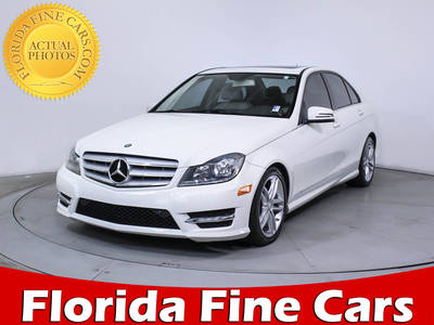 Used MERCEDES-BENZ C CLASS 2012 HOLLYWOOD C300 4MATIC