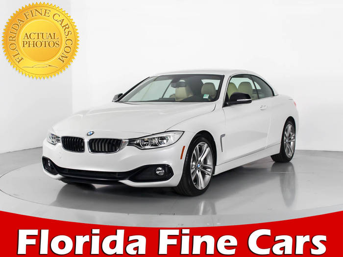 Used BMW 4 SERIES 2015 WEST PALM 435I