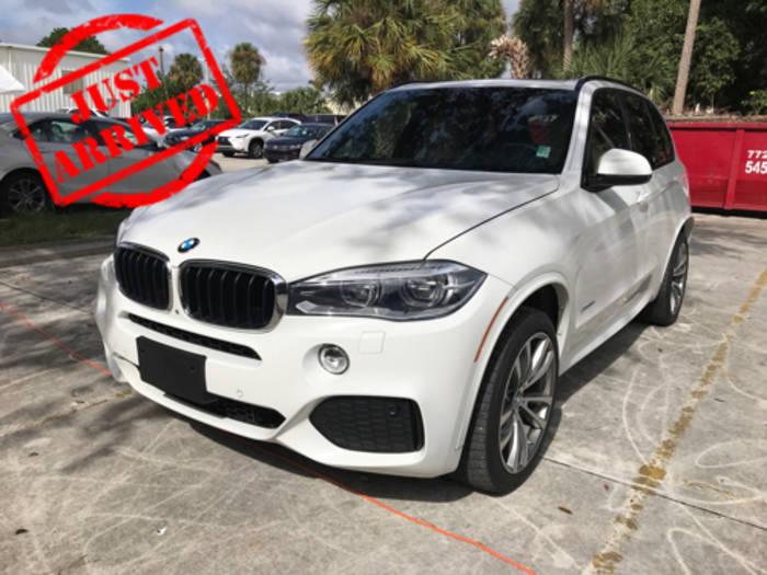 Used BMW X5 2014 WEST PALM XDRIVE35D M SPORT