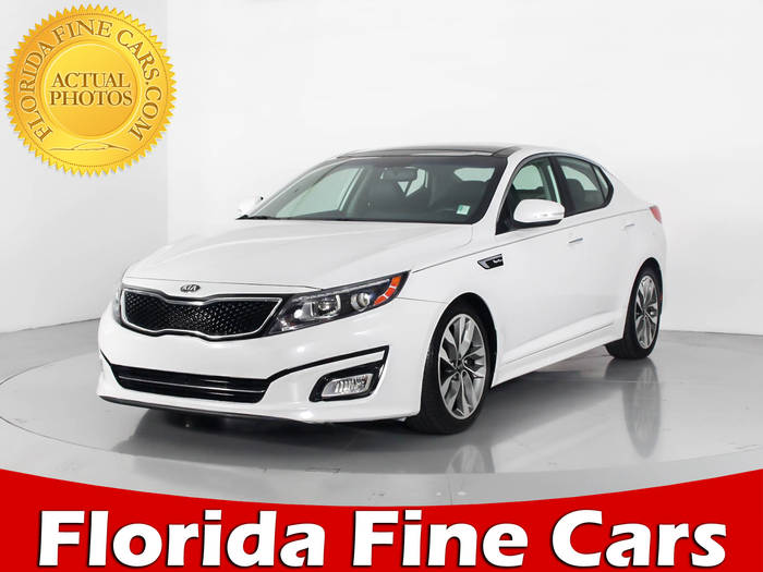 Used KIA OPTIMA 2014 WEST PALM SX