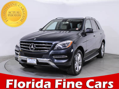 Used MERCEDES-BENZ M CLASS 2013 MIAMI ML350 4MATIC