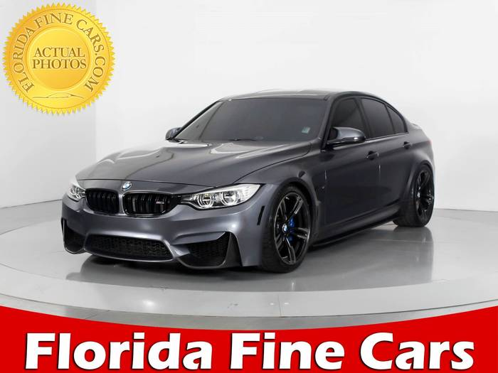 Used BMW M3 2015 WEST PALM