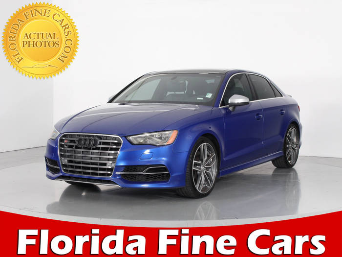 Used AUDI S3 2015 WEST PALM PRESTIGE