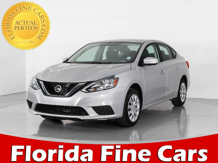 Used NISSAN SENTRA 2017 WEST PALM SV
