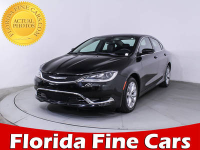 Used CHRYSLER 200 2015 MIAMI C