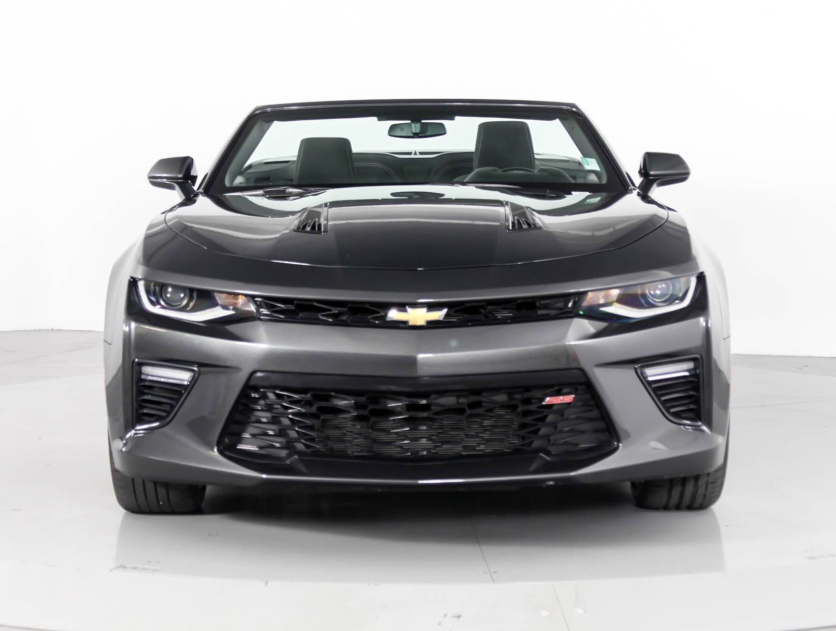 used 2017 chevrolet camaro 1ss convertible for sale in west palm fl 88754 florida fine cars. Black Bedroom Furniture Sets. Home Design Ideas