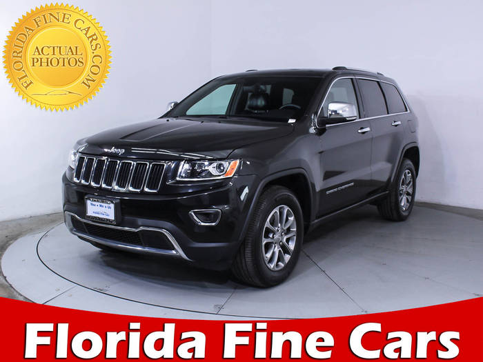 Used JEEP GRAND CHEROKEE 2016 MIAMI LIMITED