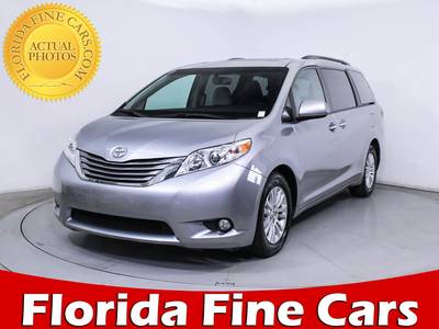 Used TOYOTA SIENNA 2016 HOLLYWOOD Xle