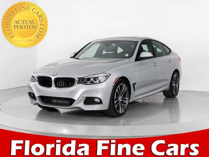 Used BMW 3 SERIES 2015 WEST PALM 335I XDRIVE GT M SPT