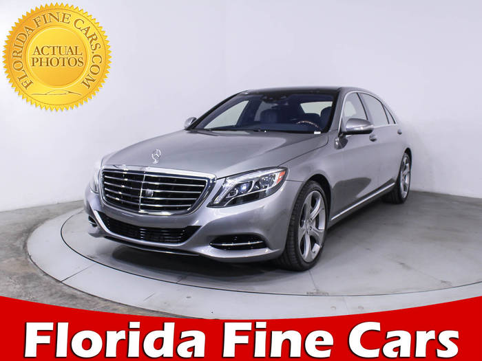 Used MERCEDES-BENZ S CLASS 2015 HOLLYWOOD S550