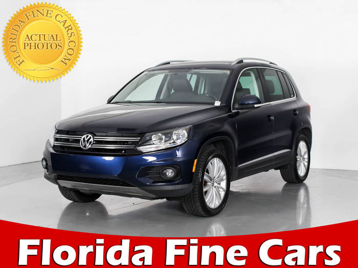 Used VOLKSWAGEN TIGUAN 2012 WEST PALM SE