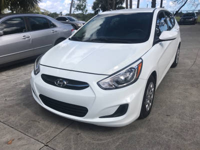 Used HYUNDAI ACCENT 2016 WEST PALM SE