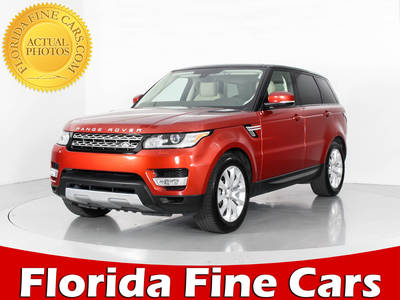 Used LAND ROVER RANGE ROVER SPORT 2015 WEST PALM SUPERCHARGED