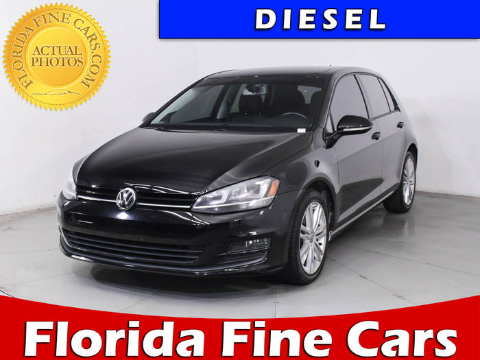 Used VOLKSWAGEN GOLF 2015 MIAMI Tdi Se
