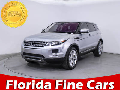 Used LAND ROVER RANGE ROVER EVOQUE 2012 WEST PALM PURE PLUS