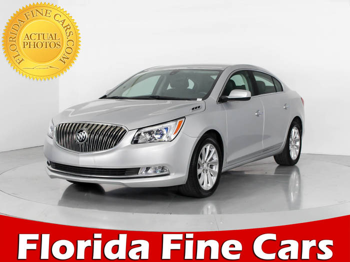 Used BUICK LACROSSE 2015 WEST PALM Leather Group